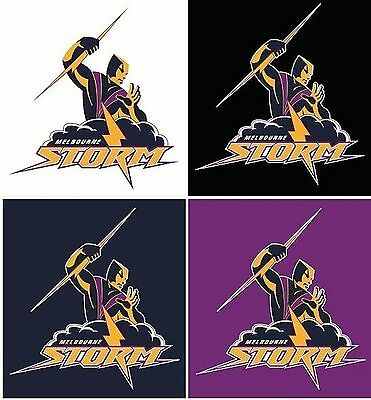 Melbourne Storm NRL 4 Logo Decals Stickers