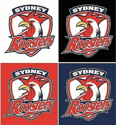 Sydney Roosters NRL 4 Logo Decals Stickers