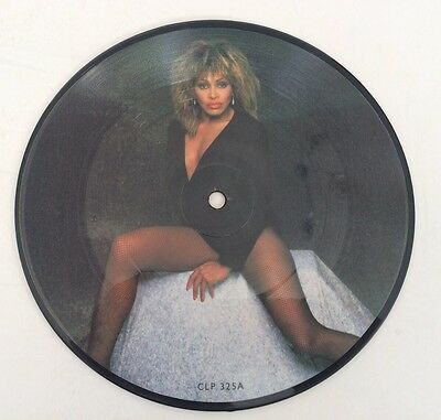 "Tina Turner: HELP / ROCK 'N' ROLL WIDOW 7"" Picture Disc 1984 Ex Cond"
