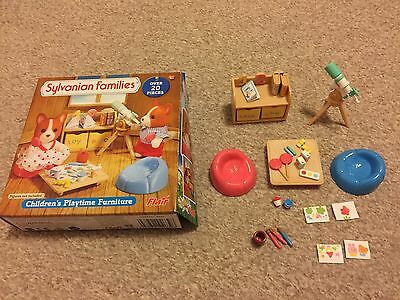 Sylvanian Families Children Playtime Furniture Boxed