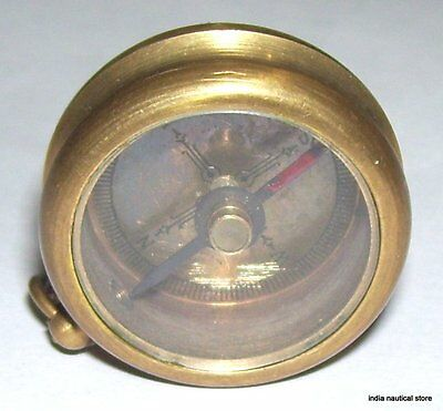Vintage Style Brass Compass 1918 Brass Antique Compass Best Lover Gift