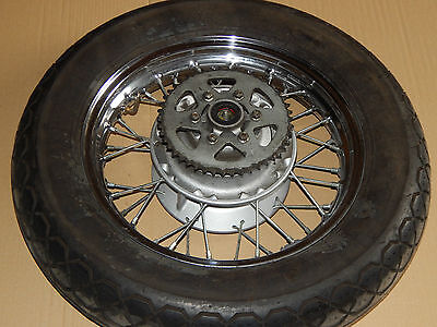 Kawasaki Bn 125 A Bn125A Eliminator  1997 Hinterrad Rad Felge Hinten Rear Wheel