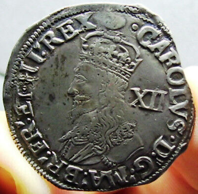 Charles I Shilling mint mark tun. Great coin.
