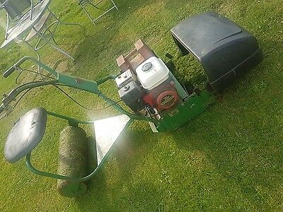 """Webb 18"""" Ride on Mower and seat roller"""