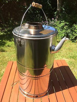 5.7L / 5.7 Litre Storm Kettle Camp Stove Back Packing Camping Bushcraft Kettle