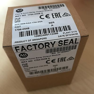 *factory Sealed*  Allen Bradley 1794-Ow8  Series A Relay Output Module