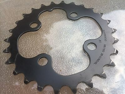 Shimano 26t Inner Chainring 4 Bolt 64mm BCD 3x9 Speed