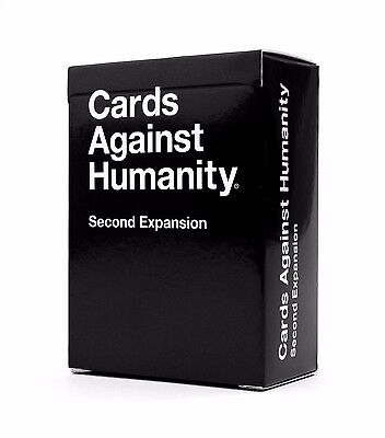 Cards Against Humanity Original NEW Second Expansion FREE DELIVERY Party Game UK