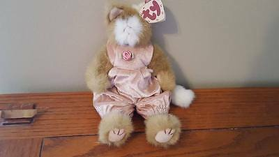 Ty Attic Treasures Collection Pouncer the Cat plush doll NWT