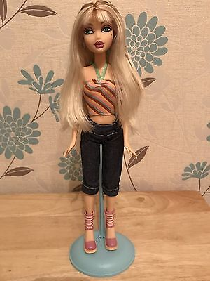 My Scene Delancey Miami Get Away Barbie Doll Rare Mattel