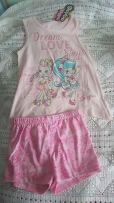 Paw Patrol Skye Chase Marshall Sz 2 3 5 T Shirt Top & Shorts Set Pyjama Summer