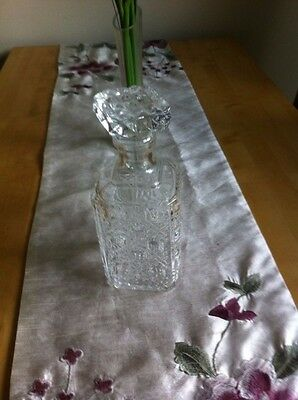 Crystal Drinks decanter