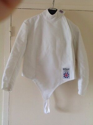 Leon Paul right hand women's fencing jacket, 350 N size 36