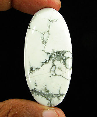 81.80 Ct Natural Howlite Loose Gemstone Cabochon Beautiful Stone - 11874