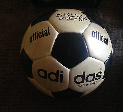 Official Match Ball adidas Chelsea Polylast 1973 made in france
