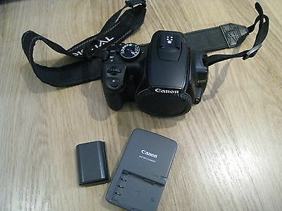 Canon EOS 400D 10.1MP Digital-SLR, Camera Body Only with 2 batteries and charger