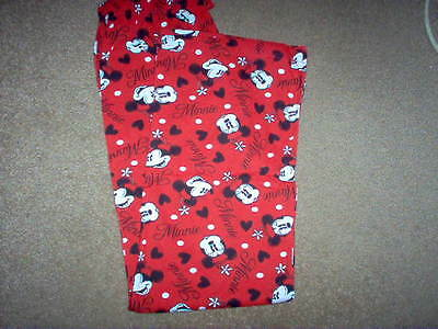 Girls Lounge Pants - Minnie Mouse - 7-8, 9-10, 11-12 & 13 Years