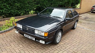 Volkswagen Scirocco 1.8 Scala Coupe,  1990 (H) Classic VW in Black