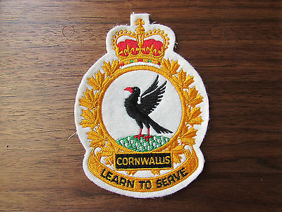 Original Canadian Forces Cornwallis Learn To Serve Canadian Patch Unused