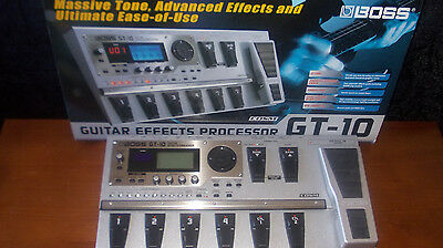 BOSS GT-10 Digital effects Processor (as new)