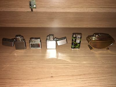 Lighter Joblot - Army Lighter Blue Flame Lighter - Ronson Table Lighter -Zippo's