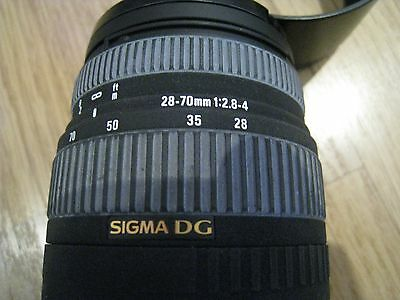 Sigma EX DG 28-70mm f/2.8-4.0 Lens For Canon