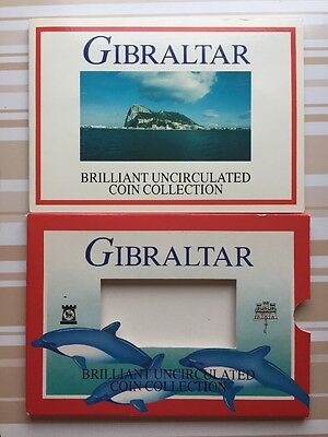 Gibraltar Coin Set 1996 * Pobjoy Mint BU Inc Rare Dated Cannon Two Pound!!!