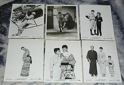 Jerry Lewis In The Geisha Boy 1958 6 8X10 Vintage Press Still Lot Portraits .