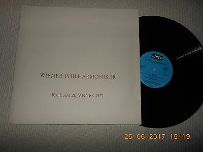 "12"" Wiener Philharmoniker Ball Am 21.jänner 1971"