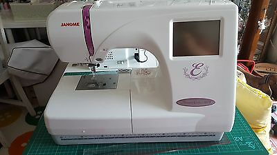 janome Memory craft 350E Embroidery only machine