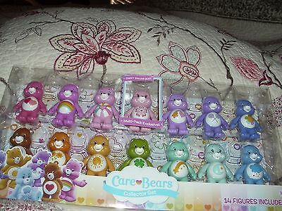 Just Play Care Bears Collector Lot Set 3 Inch 14 Figure Deluxe Pack Toy NEW