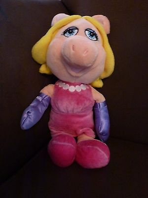 The Muppet Show Miss Piggy Soft Toy Teddy / Posh Paws