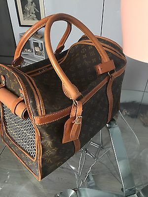 REDUCED......Authentic Vintage Louis Vuitton Pet Carrier.