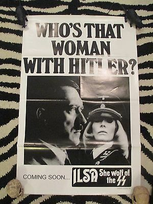Ilsa She Wolf Of The SS Poster-Dyanne Thorne