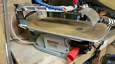 scroll saw Axminster trade series scroll saw AWFS18