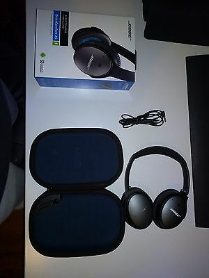 Bose QC25 Headphones - BLACK - Noise Cancelling - Brand New