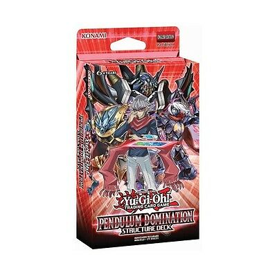 Pendulum Domination Structure Deck Yu-Gi-Oh New Sealed English Version