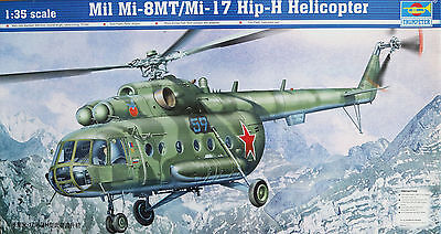 "TRUMPETER 05102 ""Mil Mi-8MT / Mi-17 HIP-H Helicopter"" in 1/35"