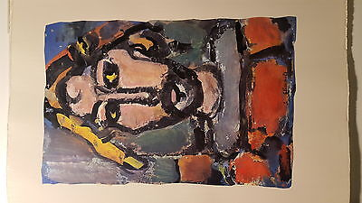 Rouault, Divertissement, Teriade, Editions Revue Verve, 1943, Draeger