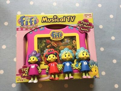 Fifi and the flowertots Musical TV And Mini Figures
