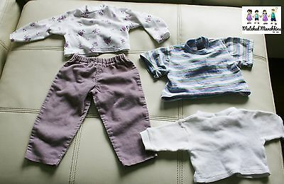 Vintage My Twinn Doll Clothes Outfits 23 inch doll 4 piece lot Collectible Doll