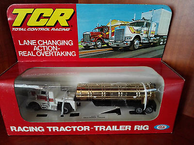 Very Rare Tcr Racing Tractor-Trailer Rig White/gold Mib