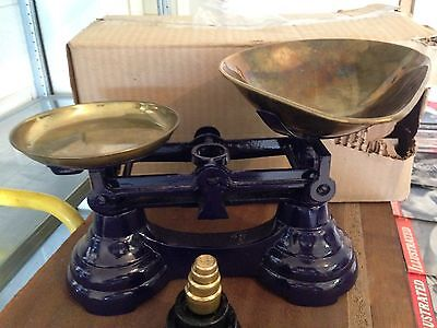Retro Kitchen Scales And Weights