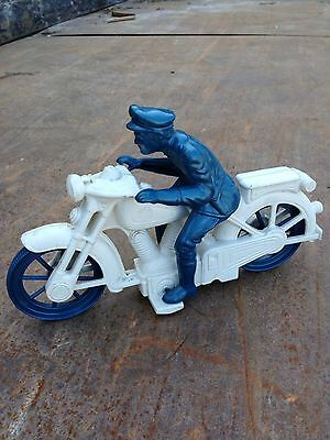 Vintage Toy Motorcycle And Rider