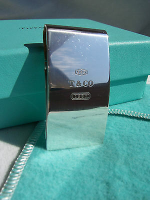"Tiffany & Co.  ""1837"" Collection Hinged Money Clip!!!"