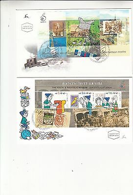 Israel 1998 First Day Covers including mini sheets - x 24 different covers