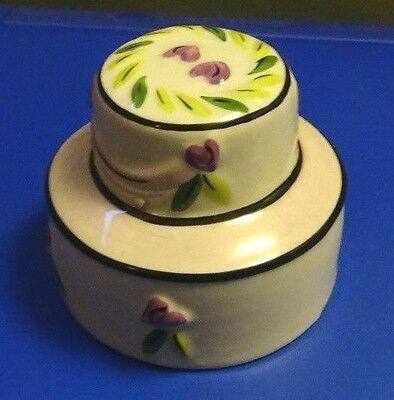 Lorna Bailey Pottery wedding cake signed in blue Excellent Condition FREE P&P &&
