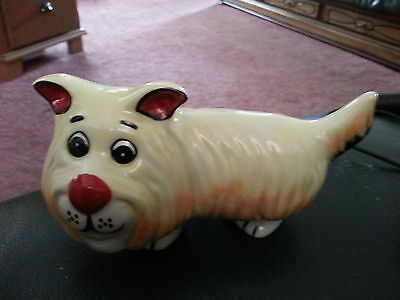Lorna Bailey Pottery DOODLES the dog Excellent Condition FREE P&P
