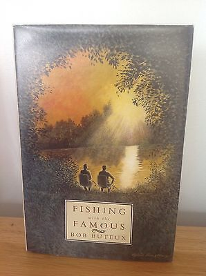 Fishing With The Famous Bob Buteux signed carp barbel pike fishing book