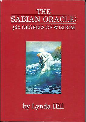 The Sabian Symbols as an Oracle: 360 degrees of Wisdom by Lynda Hill  Book/Cards